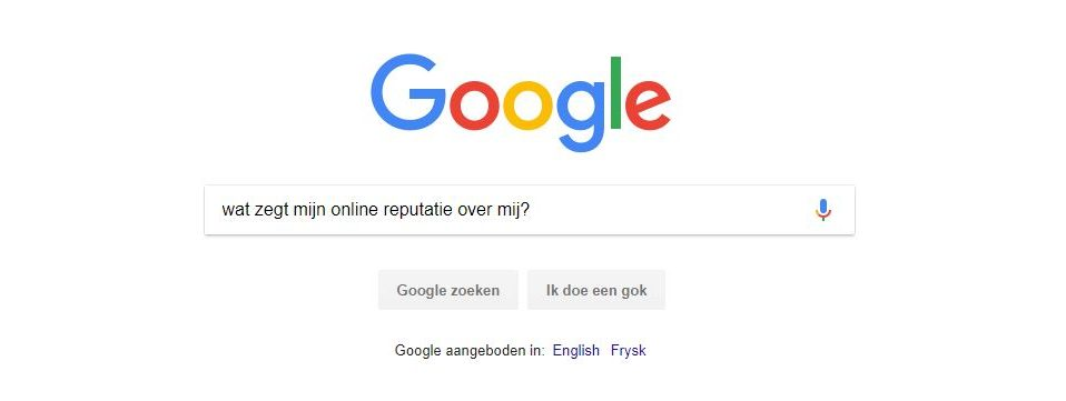 online reputatie